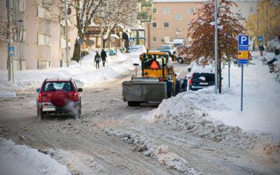 Vinterbudgeten redan slut – pengarna snöade bort