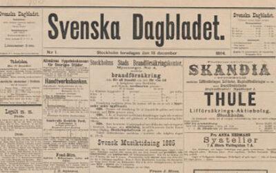 """Skandalhistoria: Moderat """"baggbölare"""" i Svenska Dagbladet"""