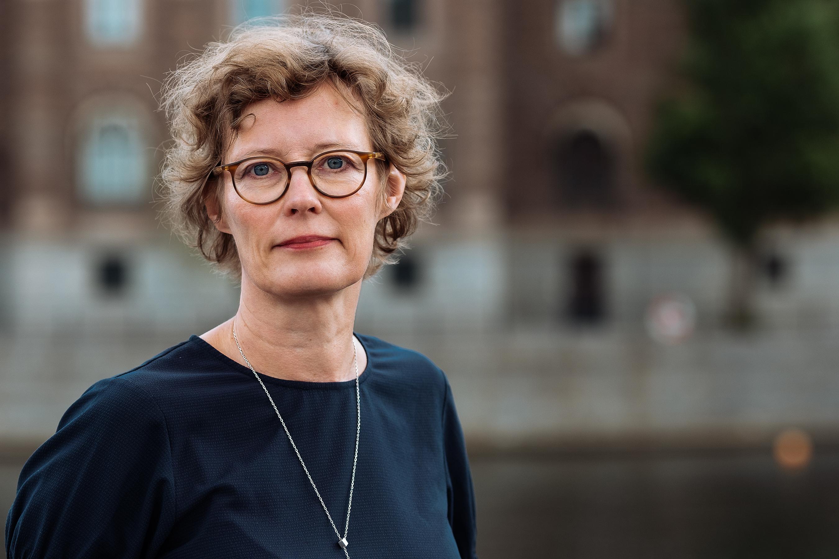 Sacos samhällspolitiske chef Lena Granqvist. Foto: Knut Capra Pedersen